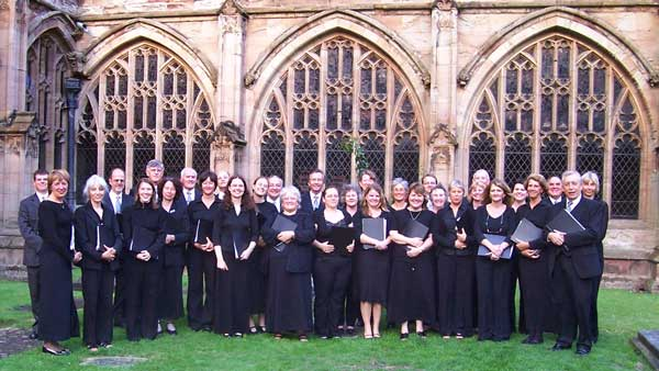 Choir at Worcester